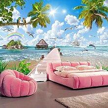 Custom Foto Tapete Moderne Meer Landschaft