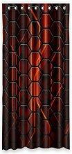 """Custom Honeycomb Polyester-Bee lichtgeschützten-Fenster Vorhang für Schlafzimmer oder Wohnzimmer einem Stück, 132,1x 274,3cm Zoll über 132cm x 275cm, Polyurethan, B, 52""""""""x108"""