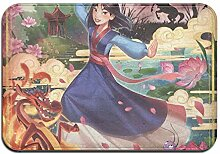 Custom made Disney Mulan Badematte, rutschfest,