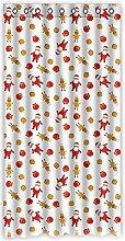 """Custom Polka Dots Polyester-Lichtdicht-Fenster Vorhang für Schlafzimmer oder Wohnzimmer einem Stück, 127x 243,8cm Zoll über 127cm x 244cm, Polyurethan, e, 50""""""""x96"""