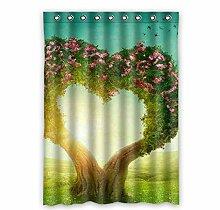 """Custom Polyester-Baum des Lebens lichtgeschützten-Fenster Vorhang für Schlafzimmer oder Wohnzimmer einem Stück, 132,1x 182,9cm Zoll über 132cm x 183cm, Polyurethan, e, 52""""""""x72"""