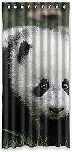 """Custom Polyester-Panda lichtgeschützten-Fenster Vorhang für Schlafzimmer oder Wohnzimmer einem Stück, 132,1x 274,3cm Zoll über 132cm x 275cm, Polyurethan, D, 52""""""""x108"""