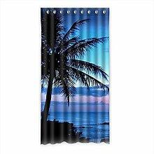 """Custom Polyester-Panda lichtgeschützten-Fenster Vorhang für Schlafzimmer oder Wohnzimmer einem Stück, 127x 243,8cm Zoll über 127cm x 244cm, Polyurethan, e, 50""""""""x96"""