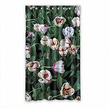 """Custom Polyester-Tulip lichtgeschützten-Fenster Vorhang für Schlafzimmer oder Wohnzimmer einem Stück, 127x 213,4cm Zoll über 127cm x 213cm, Polyurethan, a, 50""""""""x84"""