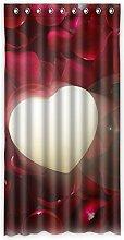 """Custom Rose Polyester-Lichtdicht-Fenster Vorhang für Schlafzimmer oder Wohnzimmer einem Stück, 127x 243,8cm Zoll über 127cm x 244cm, Polyurethan, D, 50""""""""x96"""