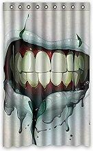 """Custom Rot Polyester-Lippen lichtgeschützten-Fenster Vorhang für Schlafzimmer oder Wohnzimmer einem Stück, 132,1x 213,4cm Zoll über 132cm x 213cm, Polyurethan, C, 52""""x84"""