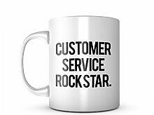 Customer Service Rockstar Cool Keramik Tasse
