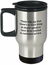 Customer Service Travel Mug - Customer Service Rep