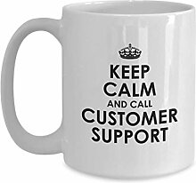 Customer Support Coffee Mug - Customer Support
