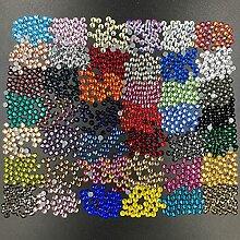 Cut 42 Farben gemischtes Glas Lron auf