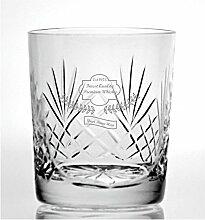 Cut Kristall Whisky Glas mit besten Premium