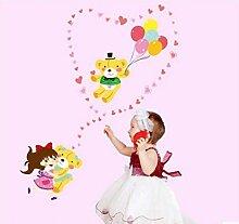 Cute Cartoon Wandaufkleber Kinderzimmer