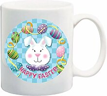 Cute Happy Easter Mug Cup - 11 Ounces