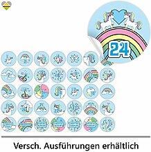 cute-head 24 Adventskalender-Zahlen + 11 Motive |