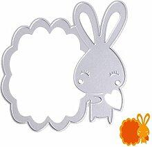 Cute Kaninchen Formen Schablonen DIY Scrapbooking