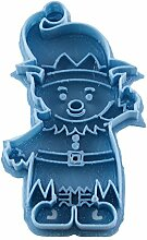 Cuticuter Weihnachten Elf Ausstechform, Blau, 8x