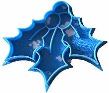 Cuticuter Weihnachten MUERDAGO Ausstechform, Blau,