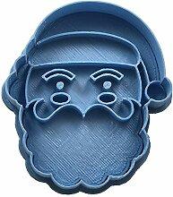 Cuticuter Weihnachten Weihnachtsmann Gesicht