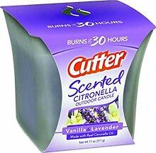 Cutter Duft Citronella Outdoor Kerze, 11-Ounce