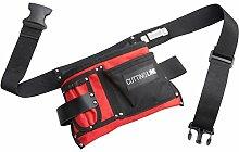 Cutting Line Werkzeug-Gürteltasche - 5 Taschen -