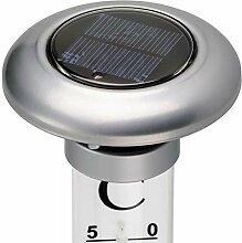 CV TFA Gartenthermometer mit Solarbeleuchtung
