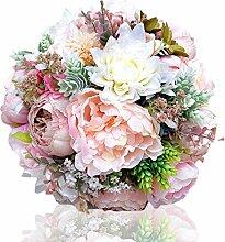 Cvbndfe Braut hält Blumen Hochzeit, die