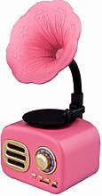 CVERY Vintage Bluetooth-Radio, Mini-Lautsprecher