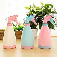 CWAIXX Bonbonfarbenen Pflanze Gießen Wasserkocher Hand Bewässerung Sprüher Sprüher Sprühflasche, Blau