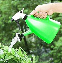 CWAIXX Gardening Gartenarbeit Tool Hand Gießen einen kleinen Druck Sprüher Wasser Krüge Hause Bewässerung Sprinkler, Orange