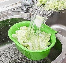 CWAIXX Hängende Waschbecken Abfluss Körbe Küche