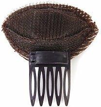 CWAIXX Liu Haipeng Stirnband Haar Clip Haar Big Hair styling Friseur Werkzeuge Pony große Haar, Stock Haar Accessoires, Braun