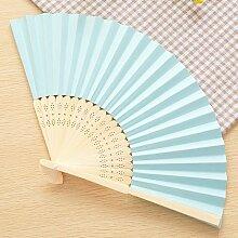 CWAIXX Sommer Mini Falten Fan tragbaren Ventilator