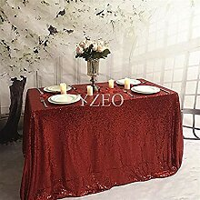 Cwfengtablecloth 48inx72 Zoll Hochzeit/Party