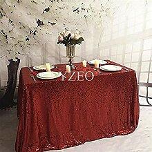 Cwfengtablecloth 48inx72 Zoll Hochzeit/Party
