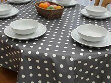 Cwfengtablecloth Ovale Tischdecke aus PVC/Vinyl,