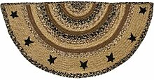 CWI Gifts and Crafts Teppich, halbrund, Tür.