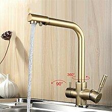Cwill Bronze Küchenwasserhahn Sieben Brief Design