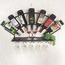 CWJ Weinregal Europäischen Kreative Wandflasche