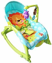 CWLLWC Baby-Schaukelstuhl, Faltbare Baby Schaukeln
