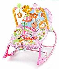 CWLLWC Baby-Wiege-Stuhl, vibrierende Musik Baby