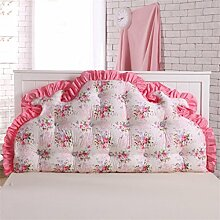 CWT-Kissen kreativ Dreidimensional Bettseite Kissen Sofa Kissen Rückenlehne Kissen Lordosenstütze gemütlich waschbar süß Kinderzimmer Princess Room 120cm * 70cm Bequeme Kissen ( farbe : #1 )