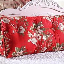 CWT-Kissen kreativ Dreidimensional Dreieck Bettseite Kissen Sofa Kissen Rückenlehne Kissen Lordosenstütze gemütlich entspannen Leinwand Baumwolle Bequeme Kissen ( farbe : #7 , größe : 120cm*50cm*25cm )