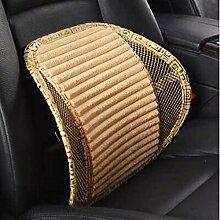 CX-PILLOW Auto Lendenkissen einstellbar Rückenlehne Pads Bürostühle mit Lendenwirbelstütze Taille Jahreszeiten Taille Lendenwirbelstütze Mode schöne Kissen ( farbe : A1 )