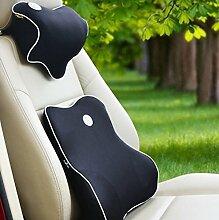 CX-PILLOW Auto Lendenwirbel Sommer mit einem atmungsaktive Rückenkissen Kissen Waist Pillow Pillow Pillow Pillow Gedächtnis-Kissen Mode schöne Kissen ( farbe : A7 )