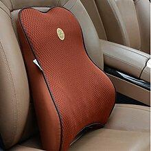 CX-PILLOW Auto Lendenwirbel Sommer mit einem atmungsaktive Rückenkissen Kissen Waist Pillow Pillow Pillow Pillow Gedächtnis-Kissen Mode schöne Kissen ( farbe : B4 )