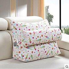 CX-PILLOW Bedside Kissen Office Lumbal Rücken Kissen Bett Nackenkissen Sofa Kissen Kissen Mode schöne Kissen ( farbe : B3 , größe : 45 cm )