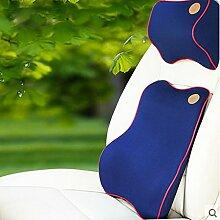 CX-PILLOW Car Pillow Pillow Pillow Nackenkissen Kissen Rückenkissen Ergonomischer Nacken Auto mit Nackenkissen Langsam Rebound Mode schöne Kissen ( farbe : A4 , stil : B3 )