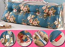 CX-PILLOW Doppeldreiecks Kissen Kissen Kopfkissen Bett Rückenlehne Mode schöne Kissen ( Farbe : #10 , größe : M )