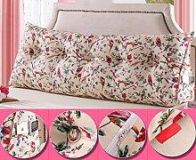 CX-PILLOW Doppeldreiecks Kissen Kissen Kopfkissen Bett Rückenlehne Mode schöne Kissen ( Farbe : #8 , größe : M )
