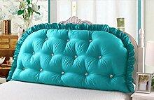CX-PILLOW Europäische Kissen Baumwolle Solid Color Bedside Back, Double Big Back Weiche Tasche Triangle Kissen, Sofa Kissen Mode schöne Kissen ( farbe : B2 , größe : 180*80cm )